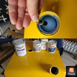 Rustbuster Slosh Tank Sealer - selante antiferrugem